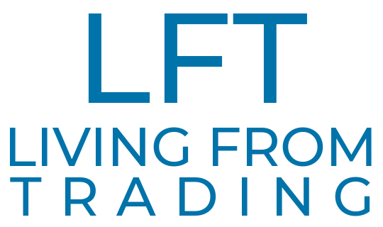 living from trading logo