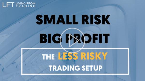 The Less Risky Trading Setup - Small risk and big profit