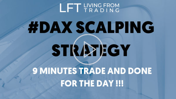 DAX scalping strategy - 9 minutes trade and done for the day!