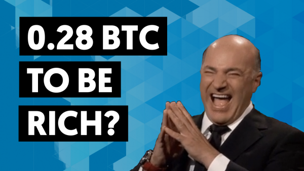 how much bitcoin do you need to be rich